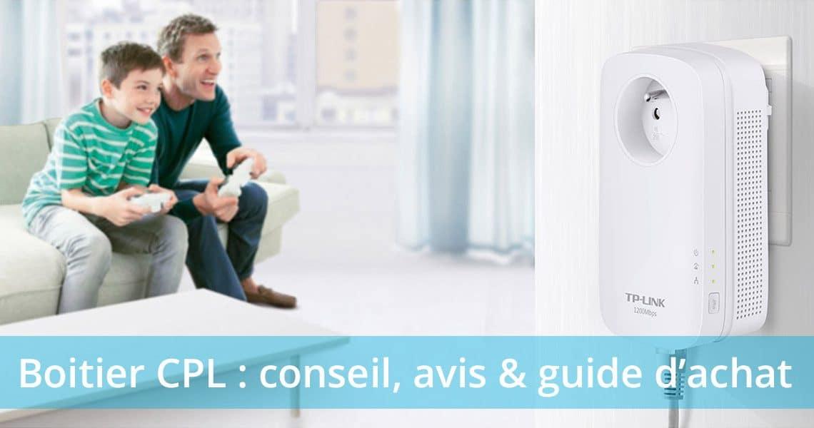 Guide d'achat : quel boitier CPL choisir ?